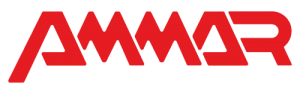 Ammar machinery logo white slogan