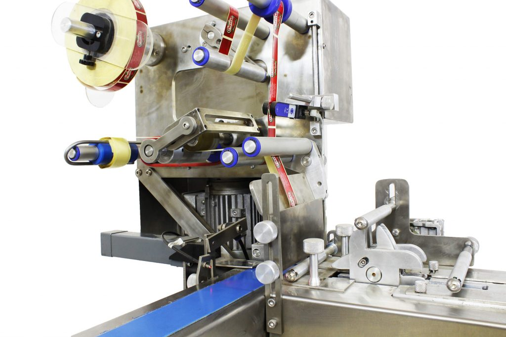 chocolate band labeling machine