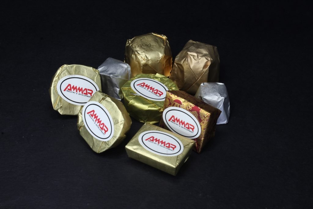 chocolate bottom labeling